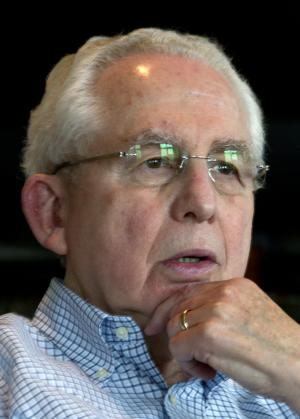 Southeastern Conference Commissioner Mike Slive is interviewed at his office at the SEC headquarters in Birmingham, Ala., Monday, July 18, 2011. (AP Photo/Dave Martin)