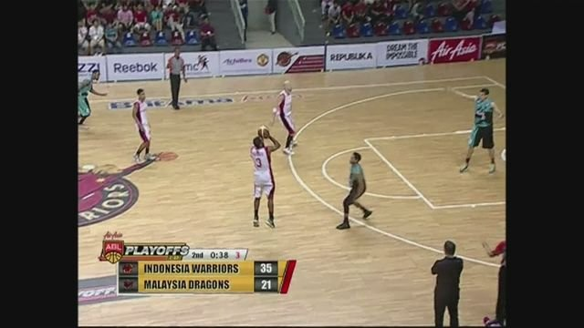 Indonesia Warriors dominate Malaysia Dragons 72-63