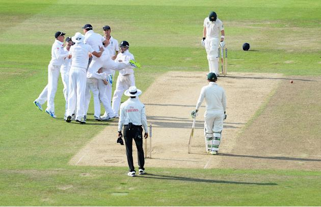 England v Australia: 1st Investec Ashes Test - Day Four