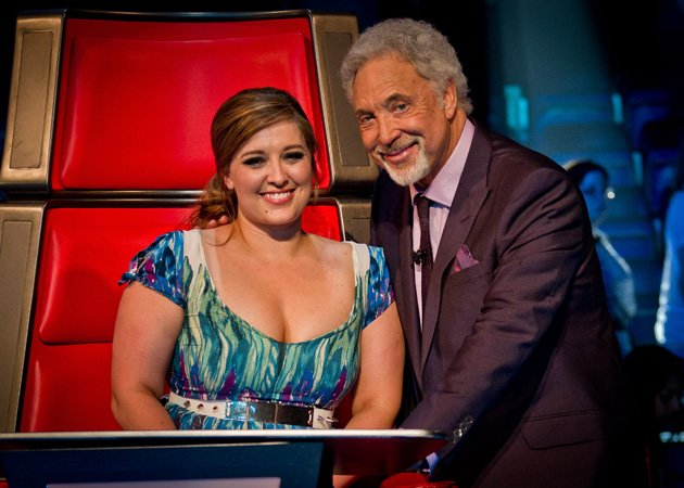 Leanne Mitchell, The Voice UK, Tom Jones