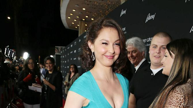 Ashley Judd at FilmDistrict's Premiere of 'Olympus Has Fallen' hosted by Brioni and Grey Goose at the ArcLight Hollywood, on Monday, March, 18, 2013 in Los Angeles. (Photo by Eric Charbonneau/Invision for FilmDistrict/AP Images)