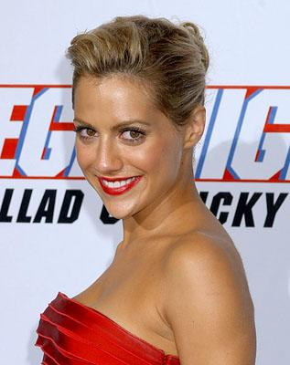 Brittany Murphy at the LA premiere of Columbia's Talladega Nights: The Ballad of Ricky Bobby