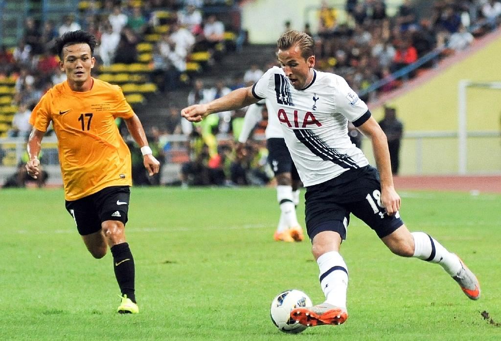 Kane leads Spurs to 2-1 victory in Malaysia friendly
