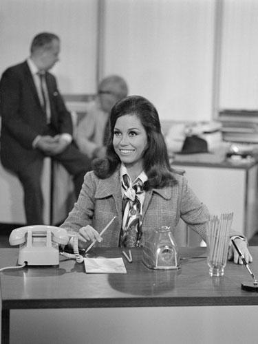Mary Tyler Moore on The Mary Tyler Moore Show, 1970