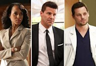 Kerry Washington, David Boreanaz, Justin Chambers | Photo Credits: ABC, Fox, ABC
