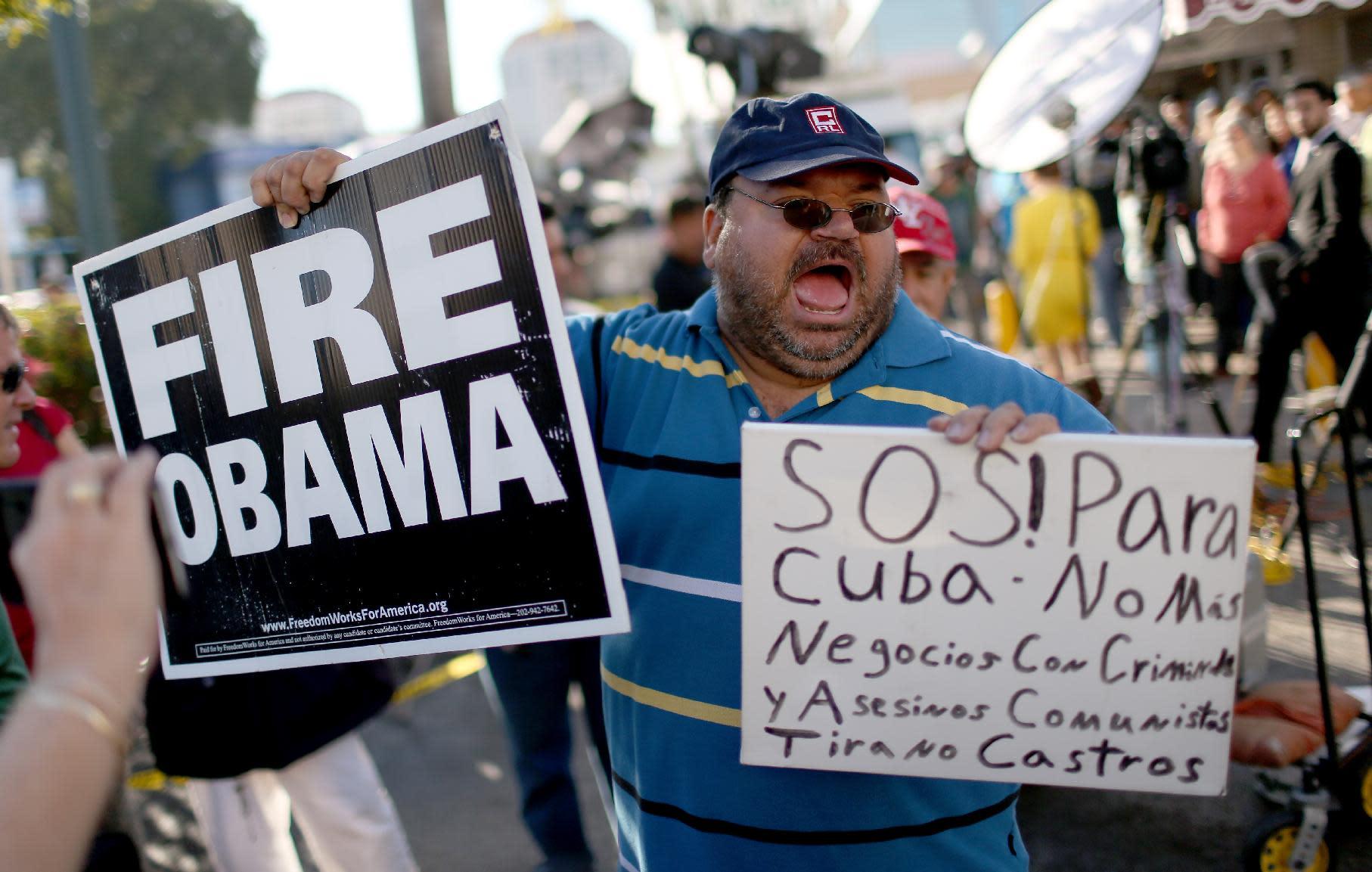 Cubans in Miami slam 'betrayal' after historic move
