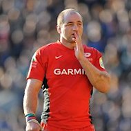 Steve Borthwick and the rest of the Saracens team will play at the newly named Allianz Park