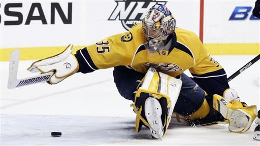 Rinne and Predators beat Avalanche 4-2