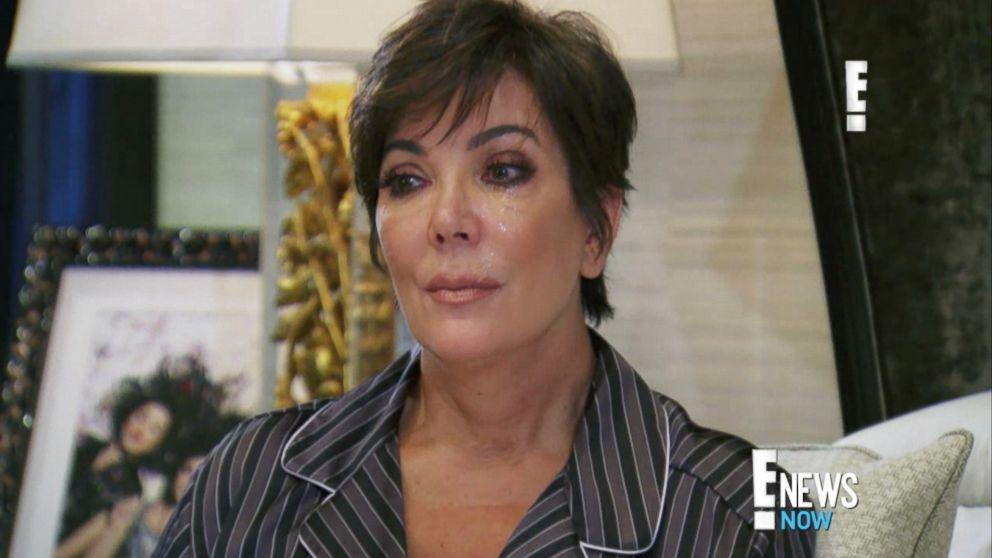 Kris Jenner Cries Over Bruce Jenner's Transition