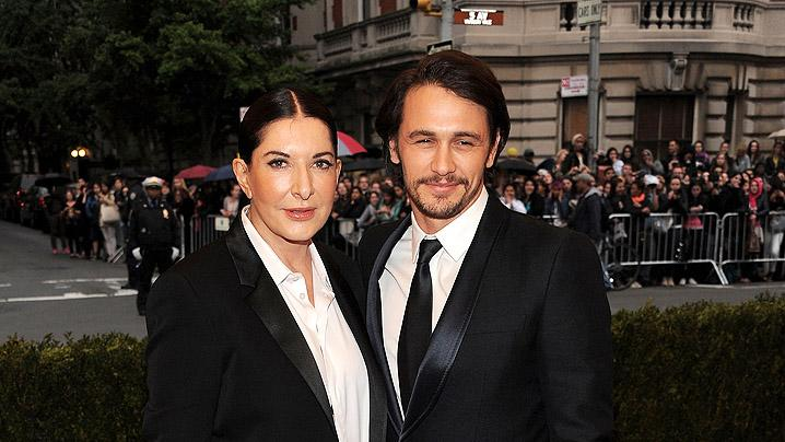 Marina Abramovic, James Franco