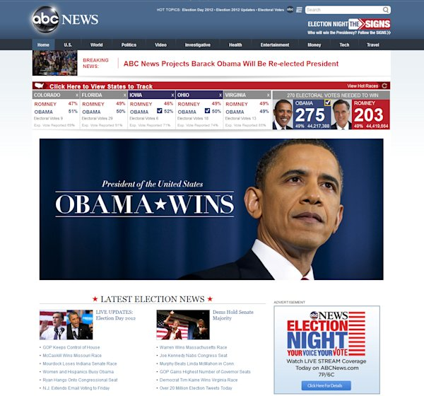 obama s victory in the headlines