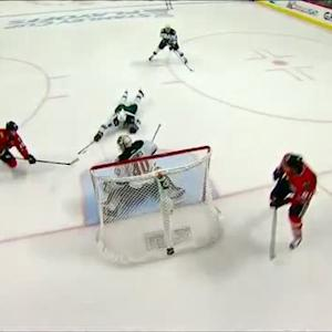 Hossa finds Toews for SHG on Dubnyk