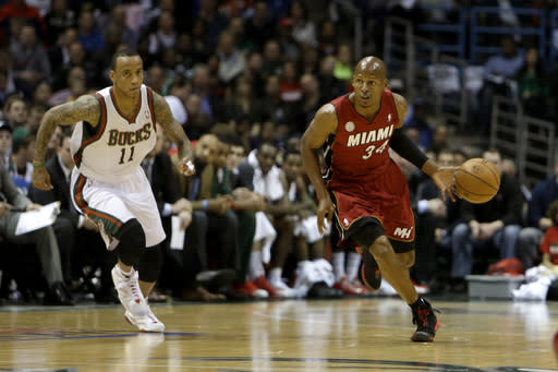 Allen, Heat up 3-0 after 104-91 win over Bucks