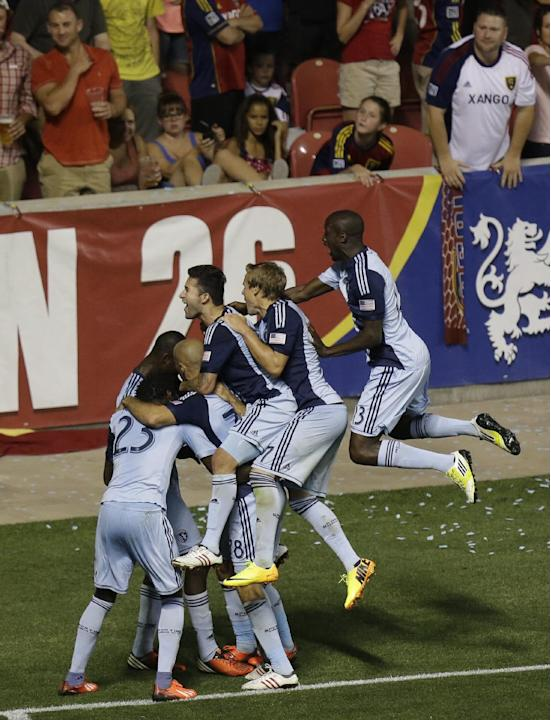 MLS Sporting KC Real Salt Lake Soccer