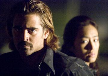 Colin Farrell and Gong Li in Universal Pictures' Miami Vice