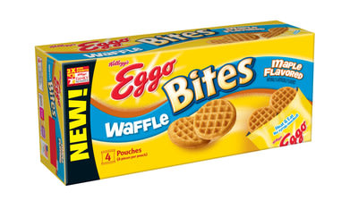 Eggo Bites™ is a new, away-from-the-table line of Eggo waffles and French toast. Great for busy mornings!
