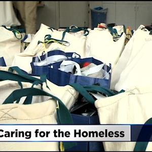 Family Makes New Holiday Tradition Of Helping The Homeless