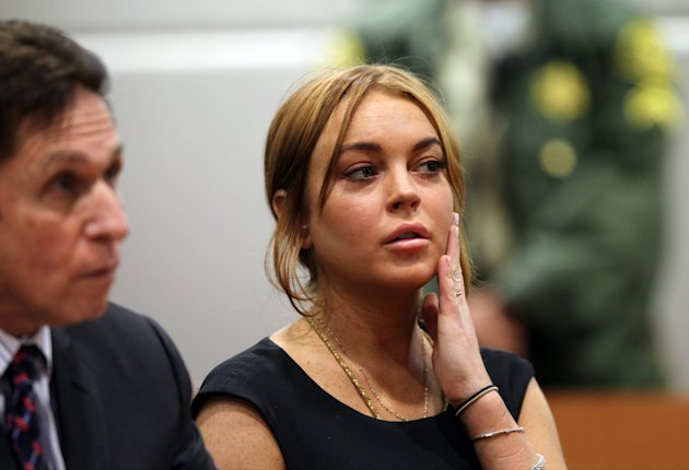 FILE - In this Jan. 30, 2013 file photo, actress Lindsay Lohan appears in Los Angeles court with her new attorney Mark Heller, left, for a pretrial hearing, in a case filed over the actress&#39; June 2012 car crash. Lohan is due back in court on Monday, March 18, 2013, for a hearing that will lay out when her trial will begin on misdemeanor charges she lied to police and was driving recklessly when her sports car crashed in June. Lohan&#39;s trial is scheduled to begin this week, but her attorney has previously sought a delay. (AP Photo/David McNew, Pool, File)