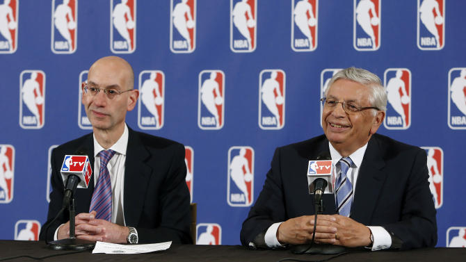 Stern believes he is leaving the NBA in good shape