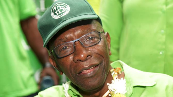 Former FIFA Vice President Jack Warner attends a political rally organised by his Independent Liberal Party in Chaguanas