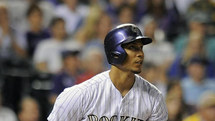 Anderson leads Rockies over Pirates 8-1