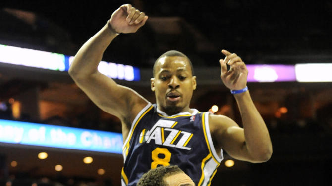 NBA: Utah Jazz at Charlotte Bobcats