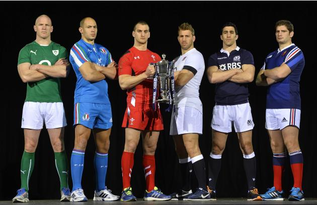 Rugby Union Six Nations Championship captains pose during launch of championship in London