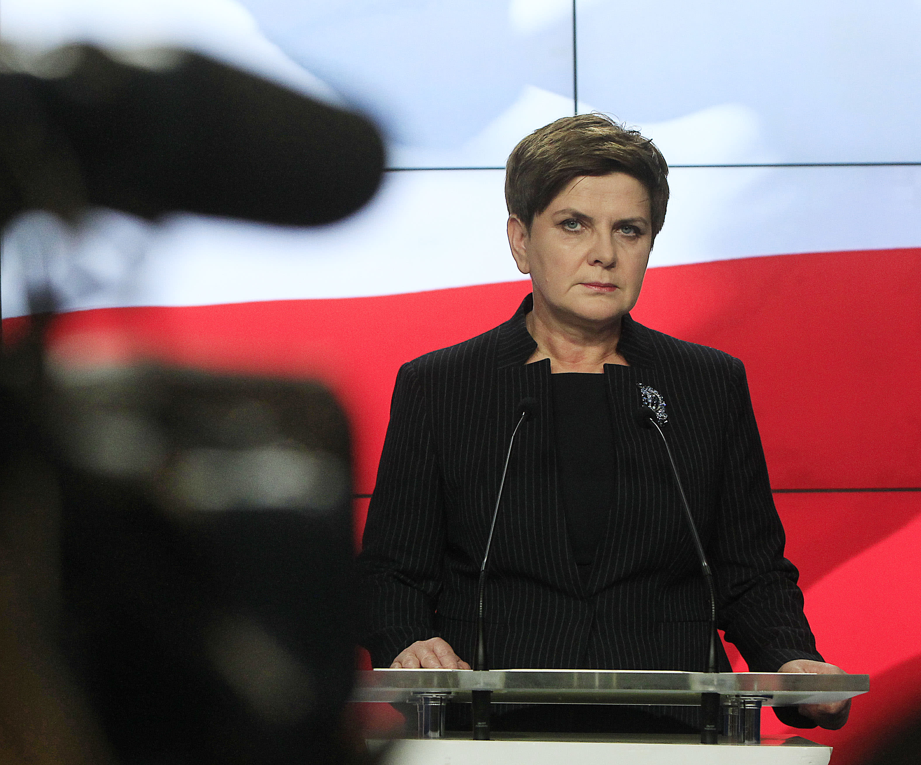 Polish parliament's last session before election disturbed