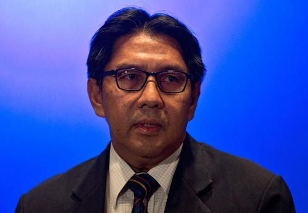 Director general of Malaysia's Civil Avition Department (DCA), Azharuddin Abdul Rahman, pictured during a press conference in Sepang, on March 10, 2014
