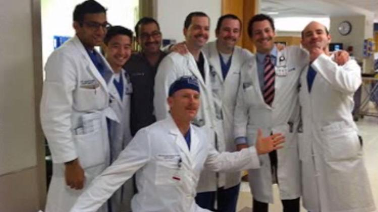 Duke doctors take part in no-shave November