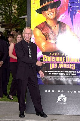 Paul Hogan at the LA premiere of Paramount's Crocodile Dundee In Los Angeles