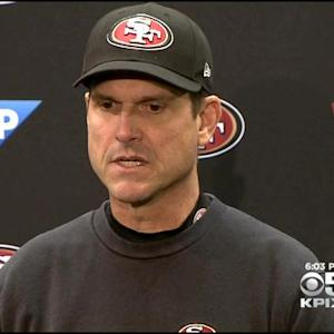 "49ers Coach Harbaugh On Rumors: ""Whatever Happens - Happens"""