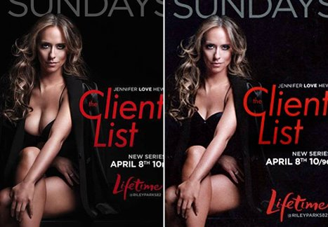 Jennifer Love Hewitt Confused By Breast Reduction in Client List Ad