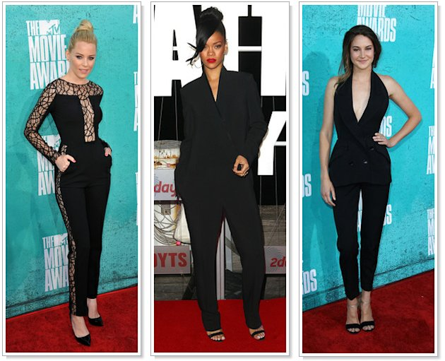 5 Major Red Carpet Trends: Feathers, Slits, Catsuits &amp; More! 