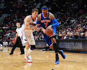 Anthony scores 40, Knicks win 10th straight