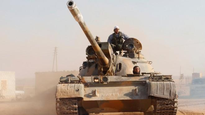 U.S. air strikes could have shifted the momentum of the Syrian war in the rebels' favor.