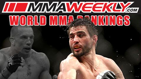 MMA Top 10 Rankings: Georges St-Pierre Out, Carlos Condit Takes Top Spot