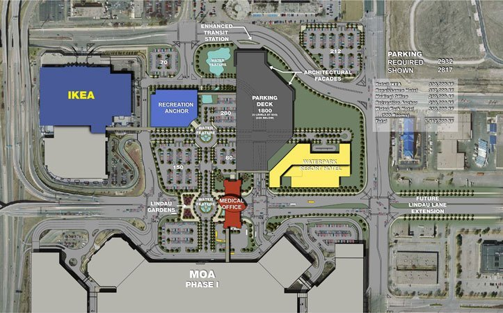 Mall of America Expansion Rendering Part 6