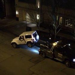 Hero Drives Jeep Off Tow Truck, Escapes In A Flash Of Glory