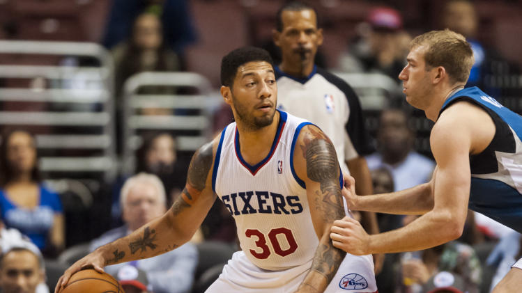 NBA: Preseason-Minnesota Timberwolves at Philadelphia 76ers
