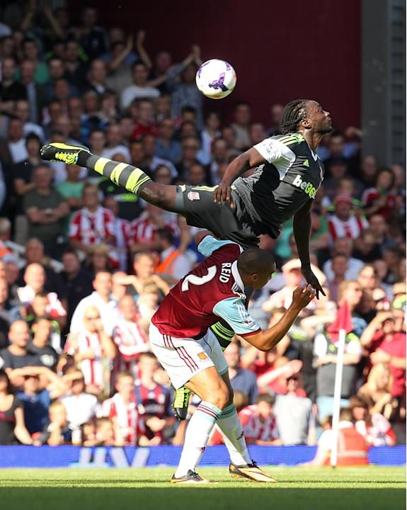 Soccer - Barclays Premier League - West Ham United v Stoke City - Upton Park