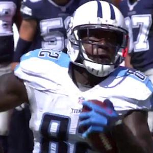 Tennessee Titans tight end Delanie Walker 61-yard touchdown reception