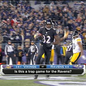 Are the Minnesota Vikings a trap game for the Baltimore Ravens?