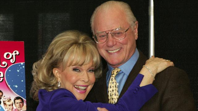 Barbara Eden Mourns Death of Larry Hagman