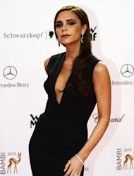 British fashion designer Victoria Beckham