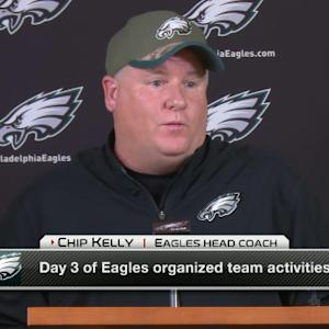 Philadelphia Eagles head coach Chip Kelly on LeSean McCoy: I've reached out to him, he didn't accept my call