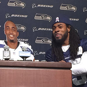Raw: Sherman, Baldwin Dig at NFL