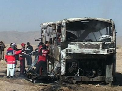 Raw: 19 Dead in Pakistan Bus Blast