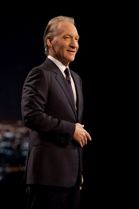 "Bill Maher in ""Real Time with Bill Maher."""
