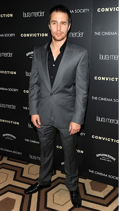 Conviction NY screening 2010 Sam Rockwell